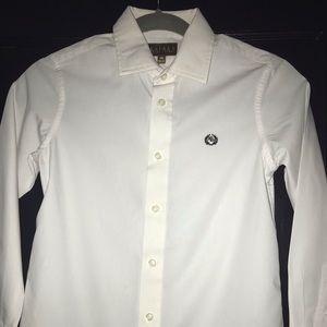 Ralph Lauren Boys White Oxford Dress Shirt